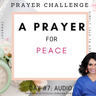Day #7: A Prayer for Peace
