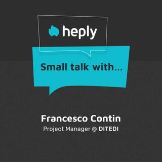 Small Talk With... Francesco Contin