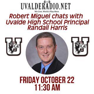 National Principals Month: UHS Principal Randall Harris