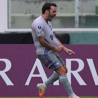 Gol de Emelec: Sebastián Rodríguez 1-1
