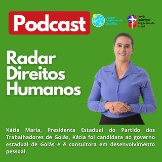 #035 - Violência Política de Gênero, entrevista com a Kátia Maria (PT-GO)