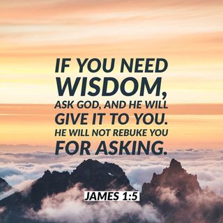How to Know What To Do in Every Storm of Life Depending on the Wisdom of God.