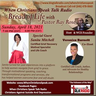 The Journey to Better Days with Veronica Burnett and Guest Sanita Mitchell
