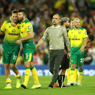 Norwich stun Man City with 3-2 win