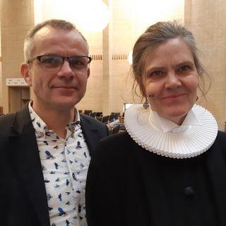 8. søndag efter trinitatis. Ulla Salicath i samtale med Peter Nejsum