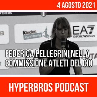 Federica Pellegrini nella Commissione Atleti del Cio. Conferenza Stampa