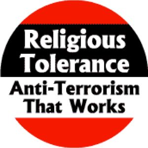 (2010/11/04) Muslims are scary (Religious Tolerance)