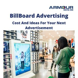 Billboard advertising:Cost and ideas for your next advertisement