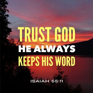 Trust God He Always Guarantees Promises to You