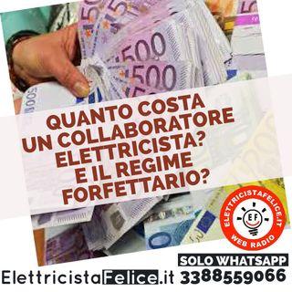 #42 Quanto costa un collaboratore elettricista e il regime forfettario?