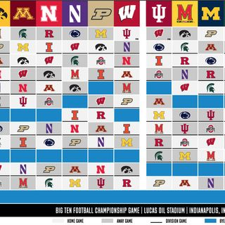 The Big Ten Schedule Came Out! Wisdom Wednesday, Bubble Update