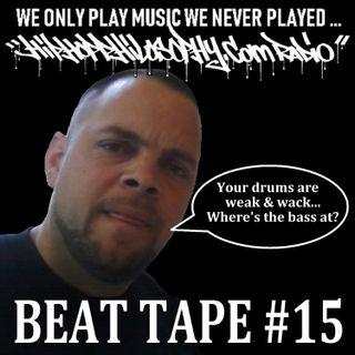 Beat Tape #15 - HipHop Philosophy Radio