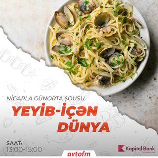 Spaghetti vongole | Yeyib-içən dünya #16