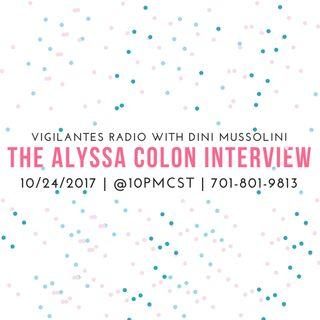 The Alyssa Colon Interview.