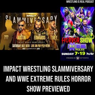 Impact Wrestling Slammiversary and WWE Extreme Rules Horror Show Previewed KOP071620-545