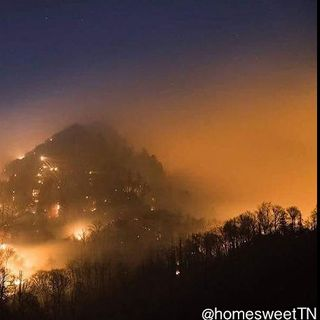 Wildfires In Perfect Conditions In East Tennessee