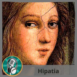 Erika López con Hipatia
