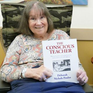 Author Deborah Poulos of The Conscious Teacher is my very special guest on The Mike Wagner Show!