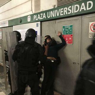 Zafarrancho en Guadalajara por alza al transporte