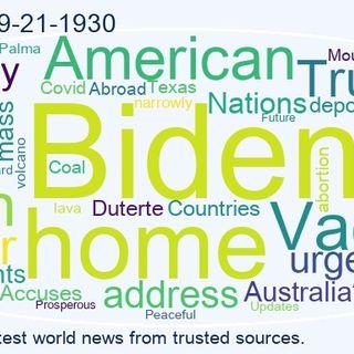 World News 2021-09-21-1930