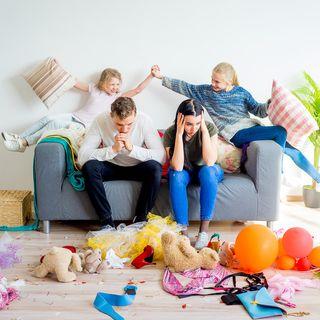 Habitación desordenada de adolescentes-  como entrenarlos