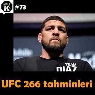 MMA Klinik #73 - UFC 266 analiz ve tahminleri