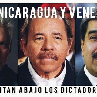 Cuba Nicaragua Venezuela Unidos pedimos LIBERTAD Escuche Caiga Quien Caiga #28Jul 2021