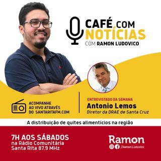 Programa Café com Notícias - 09/05/2020 - Com Ramon Luduvico