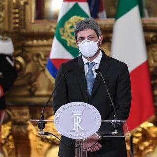 Crisi di governo, ultimo giorno di consultazioni per Fico. M5s, Pd e Leu sostengono Conte