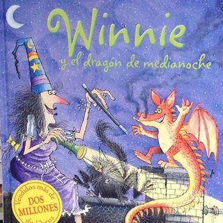 Winnie y el dragón de medianoche, Cuento para niños y niñas