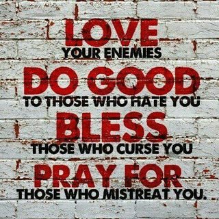 Love My Enemy?