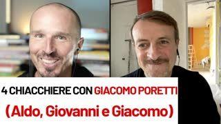 4 chiacchiere con Giacomo Poretti (Aldo, Giovanni e Giacomo)