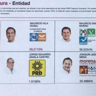 Se puede confiar en el PREP en Yucatán