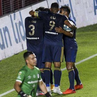Boca empató 2-2 con Argentinos y le alcanzó para meterse en la final