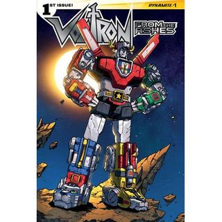 """Source Material #128 - """"Voltron: From The Ashes"""" (Dynamite)(2016)"""