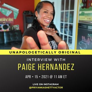 Interview with Paige Hernandez