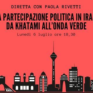 La partecipazione politica in Iran da Khatami all'Onda Verde