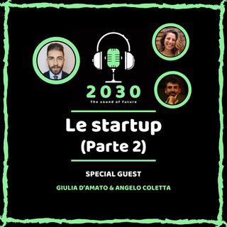 7.2 Le startup (Parte 2)