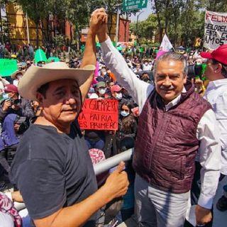 Designan a Salgado y a Morón como dirigentes estatales de Morena