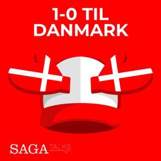 1-0 til Danmark