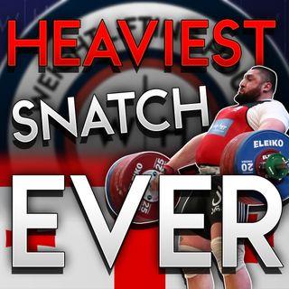 Lasha Talakhadze 222kg/489lbs Snatch | WL News