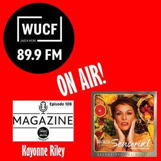 Kayonne Riley chats with Mafalda Minnozzi and Paul Ricci