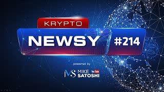 Krypto-Newsy #214 | 09.05.2020 | Wieloryby wchodzą w Bitcoina, ETH będzie shardem ETH 2.0, Halving BTC
