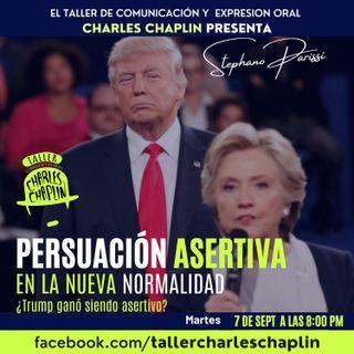Persuación Asertiva, Trump siendo asertivo ganó el ultimo debate presidencial