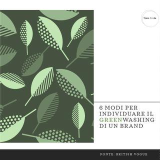 6 modi per individuare il greenwashing di un brand