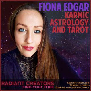 Radiant Creators - Interview With Fiona Edgar - Karmic Astrology & Tarot