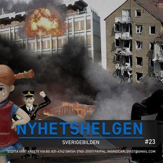 Nyhetshelgen #23 – Sverigebilden, Kling och Klang bekämpar Pippi, terrorstämpla AFA, Tuffe Uffe