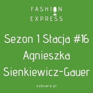 Sezon 1 Stacja 16: Agnieszka rozmawia z Agnieszką Sienkiewicz-Gauer, w jakim kierunku zmierza ten świat