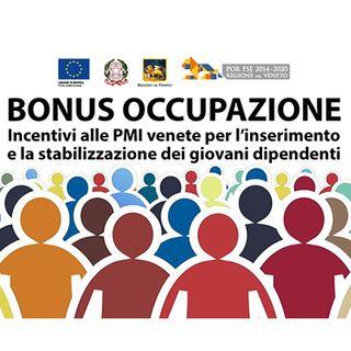 Bonus occupazionale giovani Regione Veneto