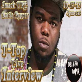URL Battle Rapper T-Top Live Interview on WPIR 98.4Fm Hosted By @DJTrapjesus